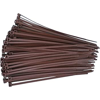 Kabelbinder Netproshop Farbe Stück braun 100 8x200mm Auswahl 4 d6w61qU