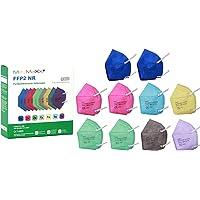 MedMaXX 10x FFP2 NR Atemschutzmaske Größe XS, auch für Kinder geeignet, bunt