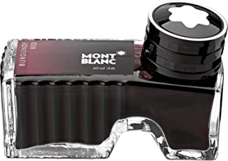 Mont Blanc Ink Bottle, Burgundy Red (105198)