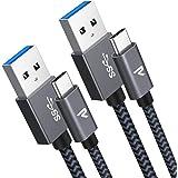 RAMPOW Cavo USB C, Carica Rapida e Trasmissione, Cavo USB Type-C Compatibile per Samsung S9/S8/Note 8, Xiaomi Mi A1/Mi A2, LG