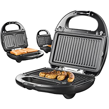 Gaufrier Gaufrier et Croque-Monsieur Grill de Table Multi Fonction ... 28e1f105c70d