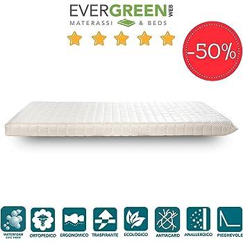 Materasso singolo per divano letto o brandina pieghevole 80x190 cm h12 cm casa e cucina - Letto pieghevole amazon ...