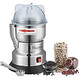 Huanyu Elektrische Graanmolen 550W Kruidenmolen elektrisch Koffiemolen Draagbare Maalwerk voor koffiebonen kruiden peper krui