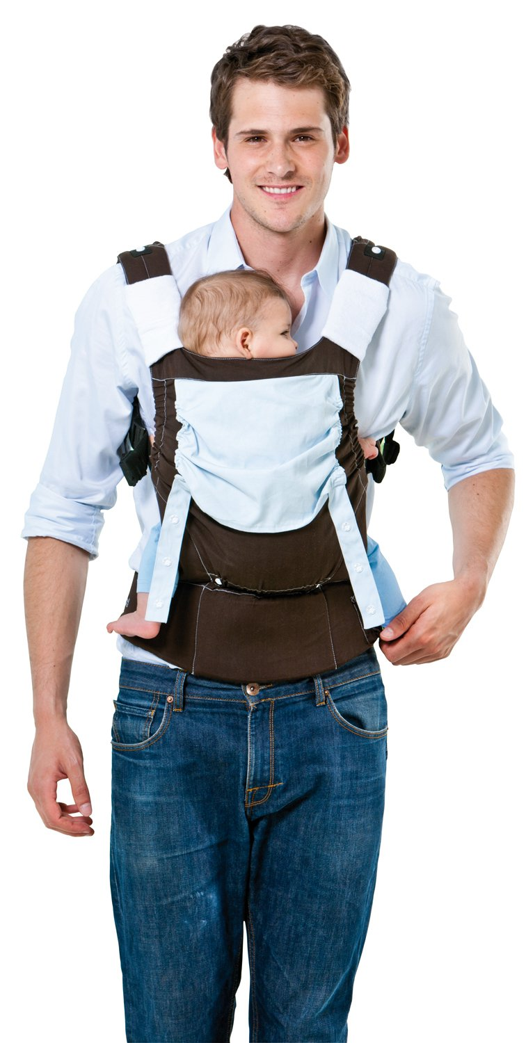 Amazonas Baby Smart Carrier - Earth AMAZONAS Waist belt length: 78 - 145 cm Flexible bridge: approx. 26 - 33 cm Load capacity: max. 3.5 - 15 kg 1