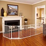 North States 3-in-1 Metal Superyard - 144 inches Long Play Yard: Create an extra-wide gate or a play yard. Hardware mount...