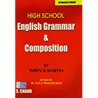 English Grammar and Composition (upgraded format): High school Basic English Grammar and Learning Book
