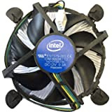 intel. Core i3 i5 i7 Socket 1150 1155 1156 4-Pin Connector CPU Cooler with Aluminium Heatsink and 3.5-Inch Fan for…