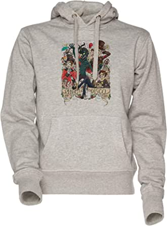 Panic! at The Disco - Panic at The Disco PATD Unisexe Homme Femme Sweat À Capuche Sweat-Shirt Gris Men's Women's Hoodie Sweatshirt Grey