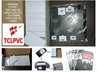 Pvc Id Card Tray + 200 Hd Inkjet Cards + Software Combo For Epson L800 L805 L810 & L850 Printer Original Epson Friendly Cards And Tray Last 2 Combos Original Id Card Print Tray + Cards L800 & L850 R260, R270, R280, R290, T50,T60,P50,Artisan 50 Printers Product Code – 1237 Brand – Tclpvc