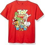 تي شيرت بأكمام قصيرة للأولاد Toy Story Character Group - تي شيرت ديزني