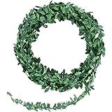 winomo hojas girland 7.5m–Follaje artificial Hiedra Decoración/verdes Viña Maceta para Boda Fiesta Ceremonia DIY Artesanía