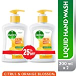 Dettol Fresh Anti-Bacterial Liquid Hand Wash 200ml Twin Pack At 25% Off