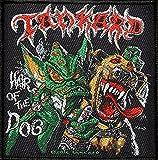 TANKARD Aufnäher HAIR OF THE DOG Patch 10 x 10 cm