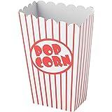 Unique Party 59023 Snack, Popcornboxen, Feestaccessoires, 8 Stuks
