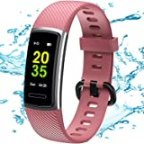TEMINICE High-End Fitness Trackers HR, Activity Trackers Health Exercise Watch with Heart Rate and Sleep Monitor, Smart Band