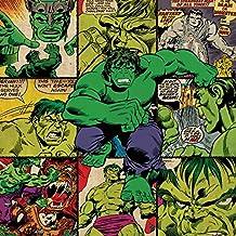 Marvel Comics Hulk Squares lienzo impresiones, multicolor 40x 40cm