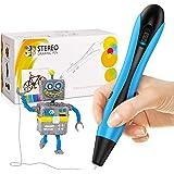 dmazing 3D Stift Set 2020 USB Stereoscopic Printing Pen mit PLA Filament - Kreatives Geschenk und Spielzeug für Kinder