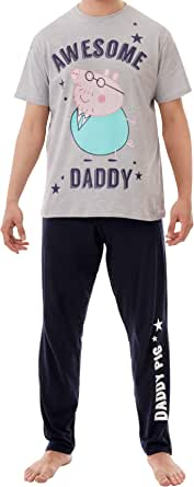 Peppa Pig Mens Daddy Pig Pyjamas