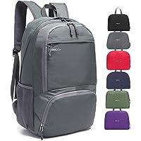 MRPLUM 25L-35L Ultra Lightweight Backpack Rucksack Foldable Ultralight Packable Backpack, Unisex Durable Handy Daypack…