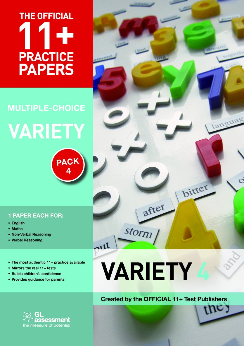 11+ Practice Papers Multiple-choice Variety Pack 4