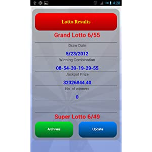 Pinoy Lotto: Amazon co uk: Appstore for Android