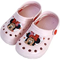 Girls Minnie Mouse Clogs - Disney Minnie Mouse Clogs for Beach or Pool