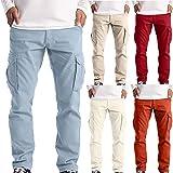 2021 Nuevo Pantalones para Hombre Casual Moda trabajo pantalones Pants Jogging Pantalon Fitness Pantalones Chandal Hombre Lar