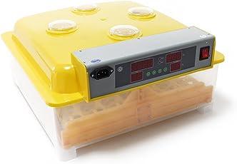 Automatische Brutmaschine 48 Eier Brutapparat Flächenbrüter Inkubator 4 Sichtfenster