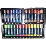 Camlin Kokuyo Artist Oil Pastels 25 Shades (Multicolor)