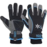 HANDLANDY Waterproof Insulated Work Gloves,Thermal Winter Gloves for Men Women Touch Screen, Warm Ski Snowboard Cold Weather