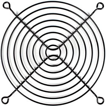 120mm Metal Cpu Fan Guard Net For Pc System Silvery Amazon Co Uk