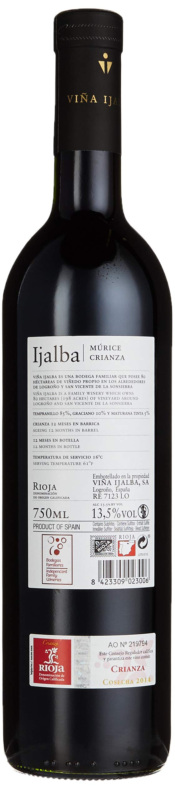 Ijalba-Murice-Crianza-Tempranillo-20142015-trocken-6-x-075-l