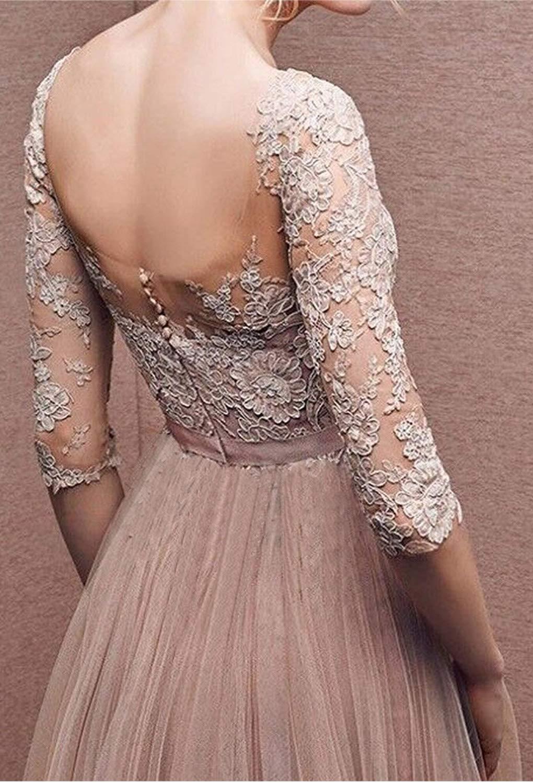 bbd6aec4d2a8 Minetom Donna Vestito Lungo Abito Da Cerimonia Elegante Vestiti Da  Matrimonio Lunghi ...