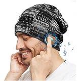 Regalo Uomo Donna Cappello Bluetooth Berretto Sci Regalo Natale Cappello Sportivi Uomo Musicale Bluetooth Lavorato a Maglia B