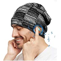 Regalo Uomo Donna Cappello Bluetooth Berretto Sci Regalo Natale Cappello Sportivi Uomo Musicale Bluetooth Lavorato a…
