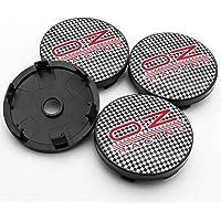 JOYSILIN 4 Pz//Lotto 63mm Universale ABS Ruota Auto Coprimozzo Coprimozzo Coprimozzo Antipolvere per O.Z Racing Logo