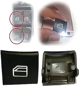 1x Für A B Klasse W169 W245 Fensterheber Schalter Knopf Vorne Links Fahrerseite Auto