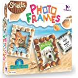 Toykraft - Shell Photo Frames   Craft Kit for Kids   Learning Activity Games   DIY Toys   DIY Craft Kit   Kids Activity for 7