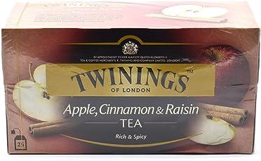Twinings Of London Apple, Cinnamon & Raisin Tea, 25 Bags (50 grams)