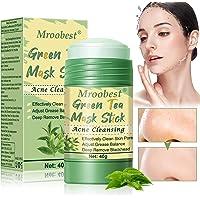 Maschera Detergente, Deep Cleansing Mask, Green Tea Mask Stick, Una maschera con ingredienti di tè verde, Rimuove…