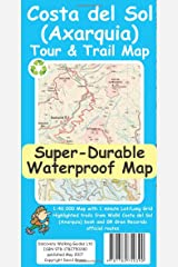 Costa del Sol (Axarquia) Tour and Trail Super-Durable Map Map