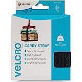 VELCRO - 1 CARRY strap 50mm x 180cm zwart - 1 klittenband draagriem (BxL) 50mm x 180 cm zwart
