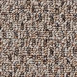 Teppichboden Auslegware Meterware Schlinge gemustert beige braun 200, 300, 400 und 500 cm breit, verschiedene Längen, Variante: 1,5 x 2 m