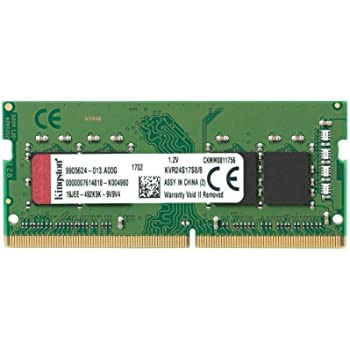 Kingston 8GB DDR4 2400MHz SDRAM SoDIMM Memory Module KCP424SS8//8