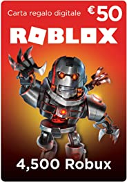 Carta Regalo Roblox - 4,500 Robux