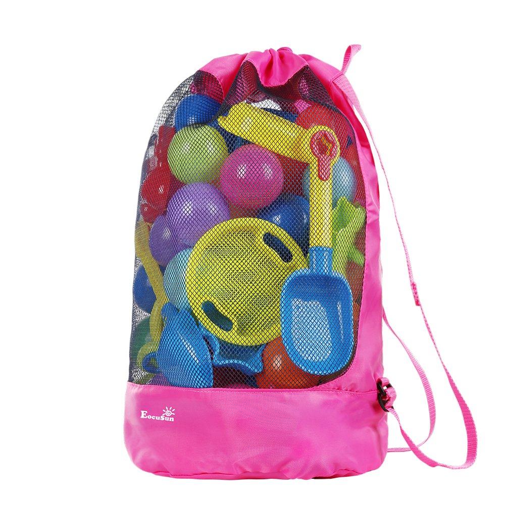 strandspielzeug tasche strandtasche mesh beach bag eocusun f r sandspielzeug wasserspielzeug. Black Bedroom Furniture Sets. Home Design Ideas