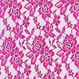 Fabulous Fabrics Spitzen Stoff — Meterware ab 0,5m — Spitzenstoff zum Nähen von Abendkleidung, Blusen und Hemden und Tops und Shirts