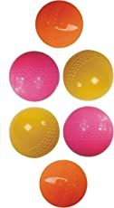 Tima Hollow HiQuality Wind Cricket Ball, Pack of 6 (Multicolor)