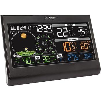 La Crosse Technology WS6868 Station météo colorée semi-pro - Noir