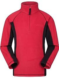 be478e0225cc Mountain Warehouse Ashbourne Kids Fleece - Lightweight Jacket